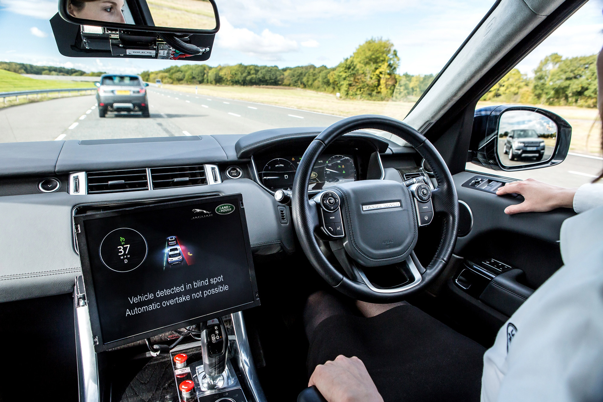 Jaguar Land Rover UK autodrive advanced highway assist