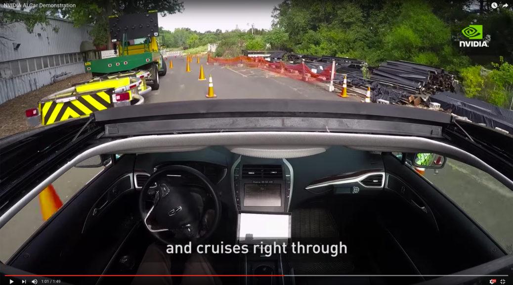nvidia bb8 ai car demonstration