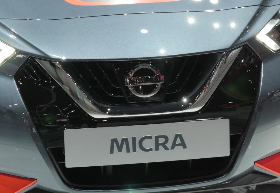 Nissan Micra Gen5 Paris Motor Show 2016
