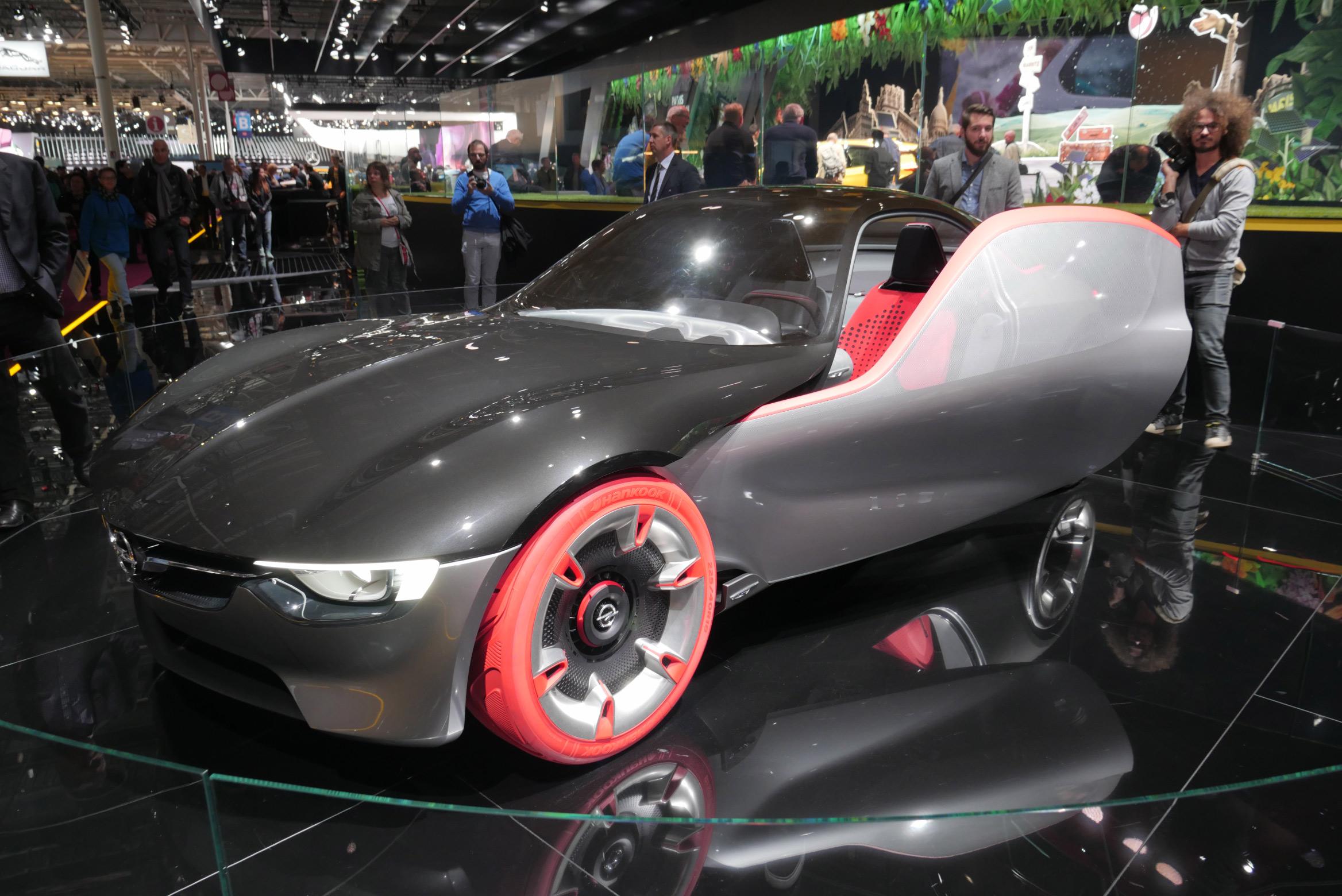 Opel GT Concept Paris Motor Show 2016
