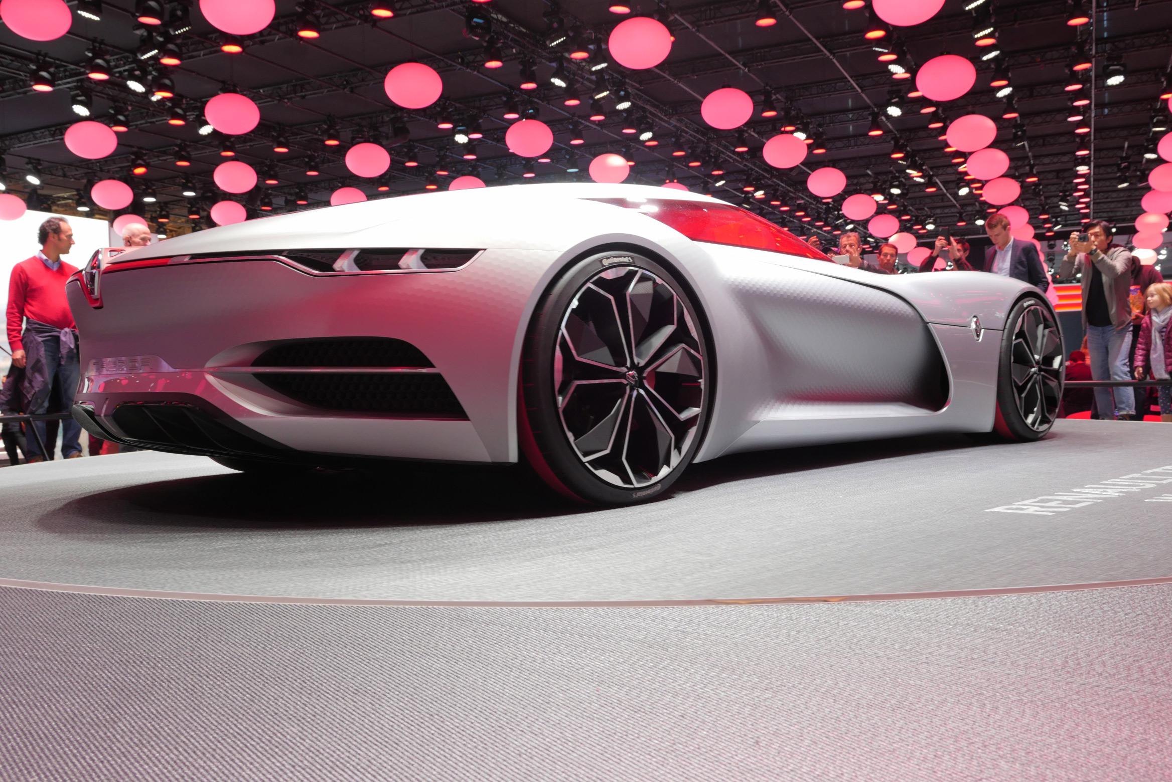 Renault Trezor Paris Motor Show 2016