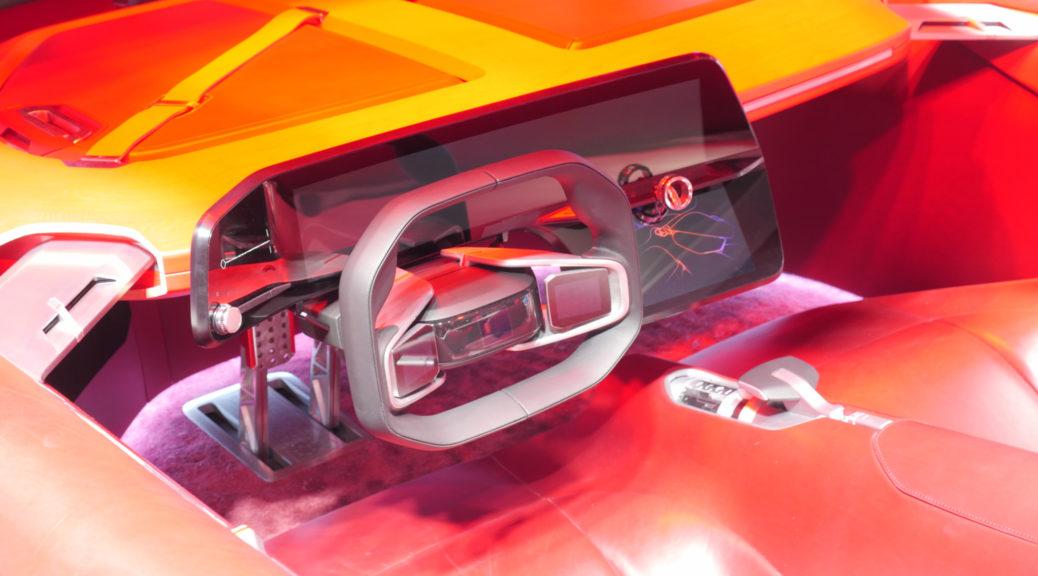 Renault Trezor Cockpit Paris Motor Show 2016