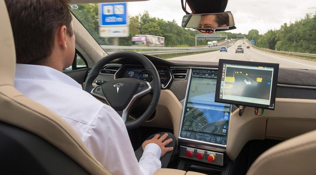 Tesla handsoff interior