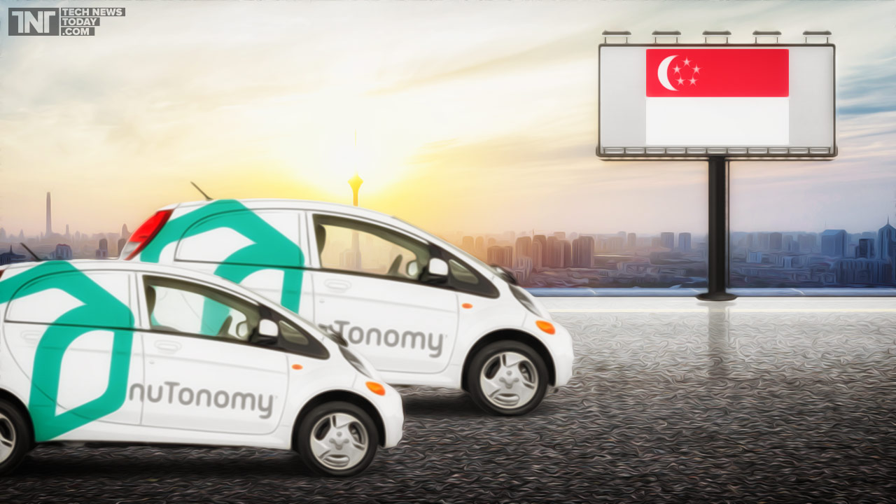 nutonomy selfdriving taxis singapore