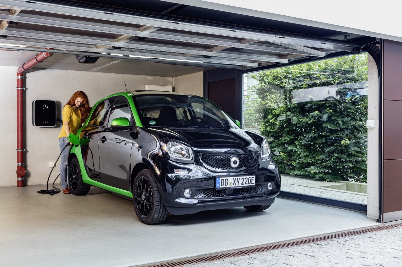 smart forfour electric charging station