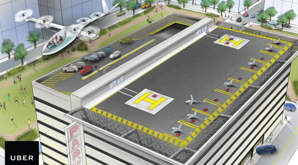 uber flying vehicles