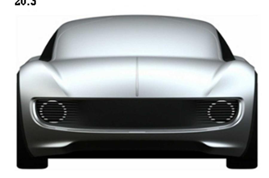 volkswagen ev patent car