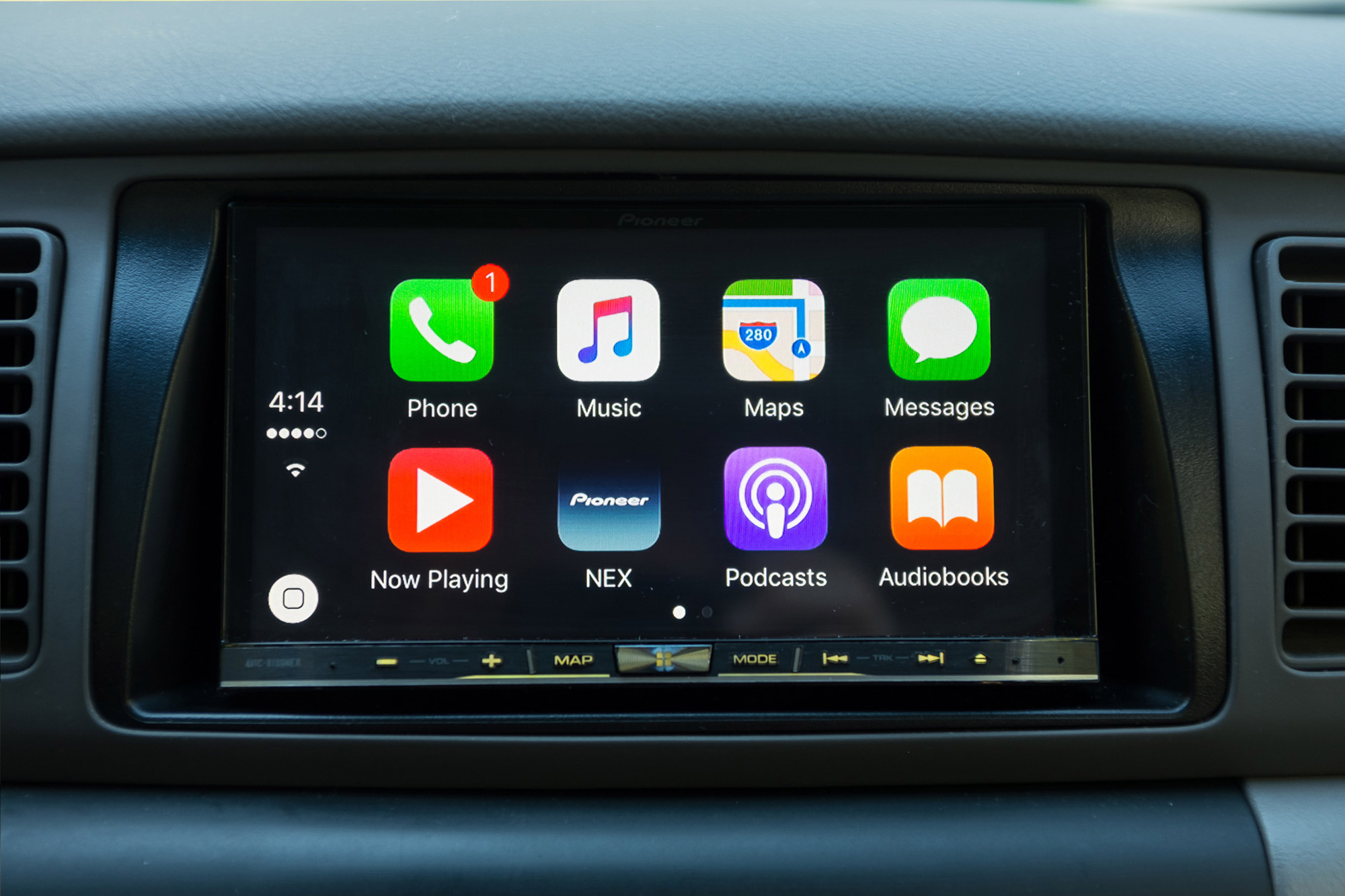 Android Auto dash