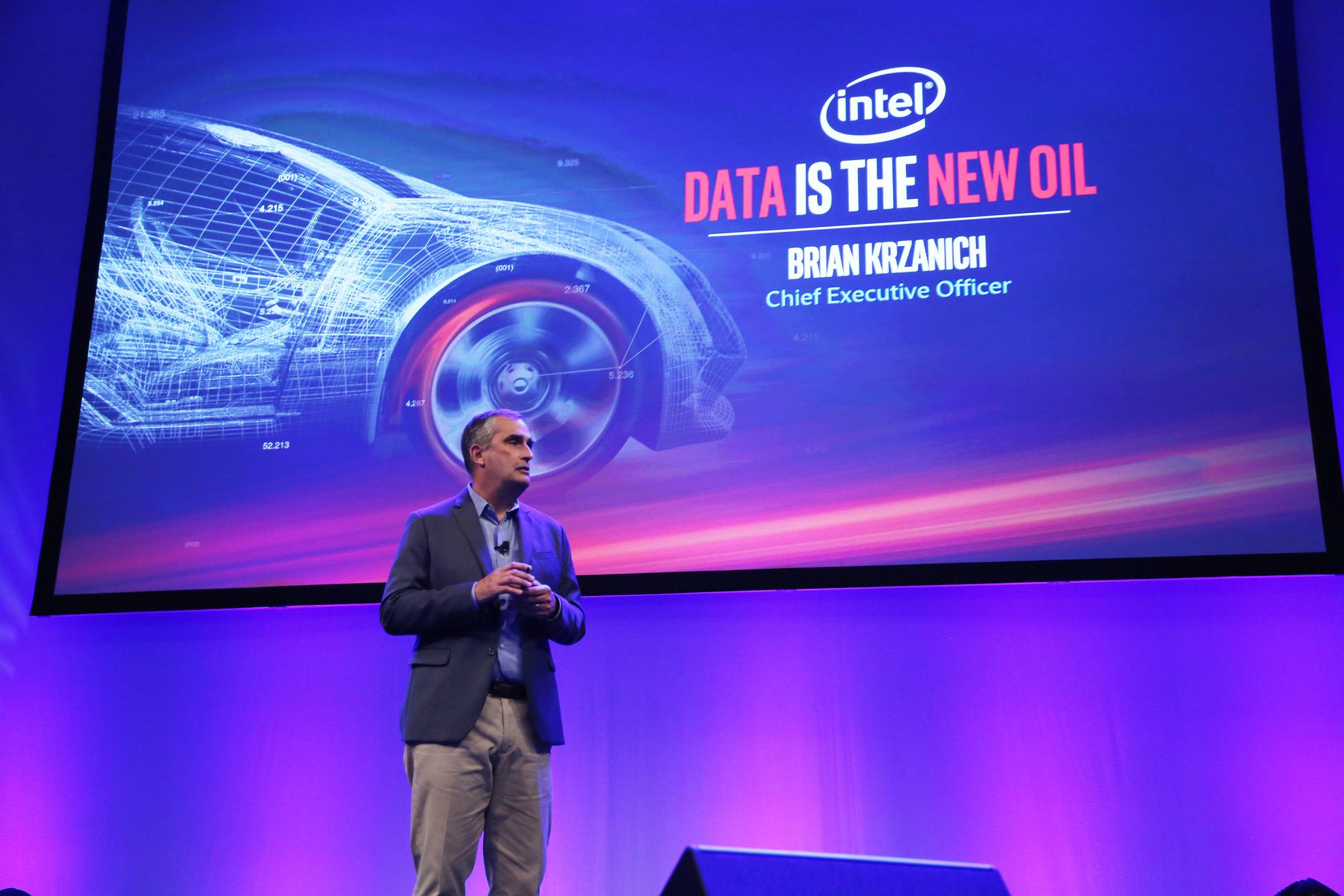 Brian Krzanich Intel CEO