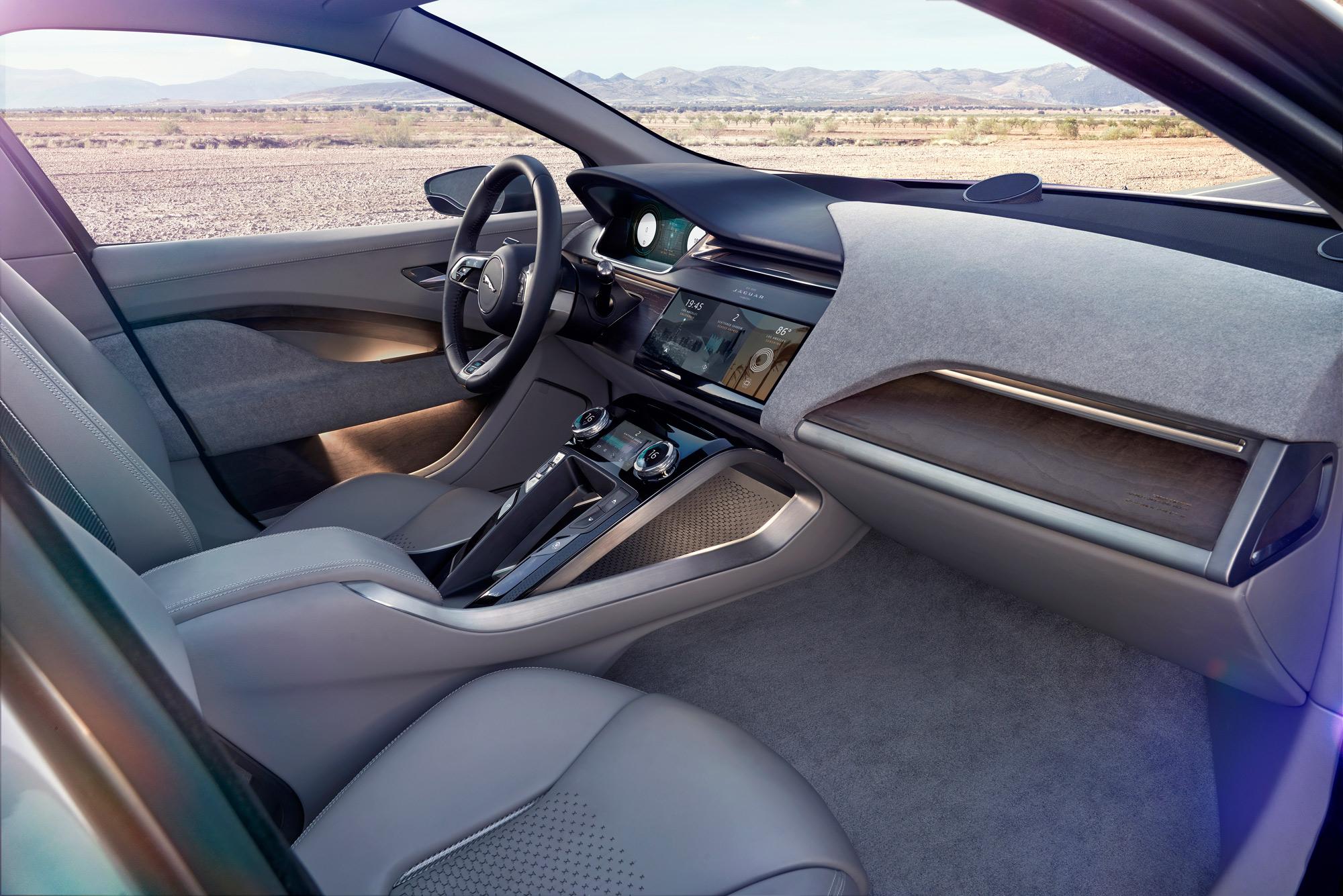 Jaguar I-PACE Concept interior