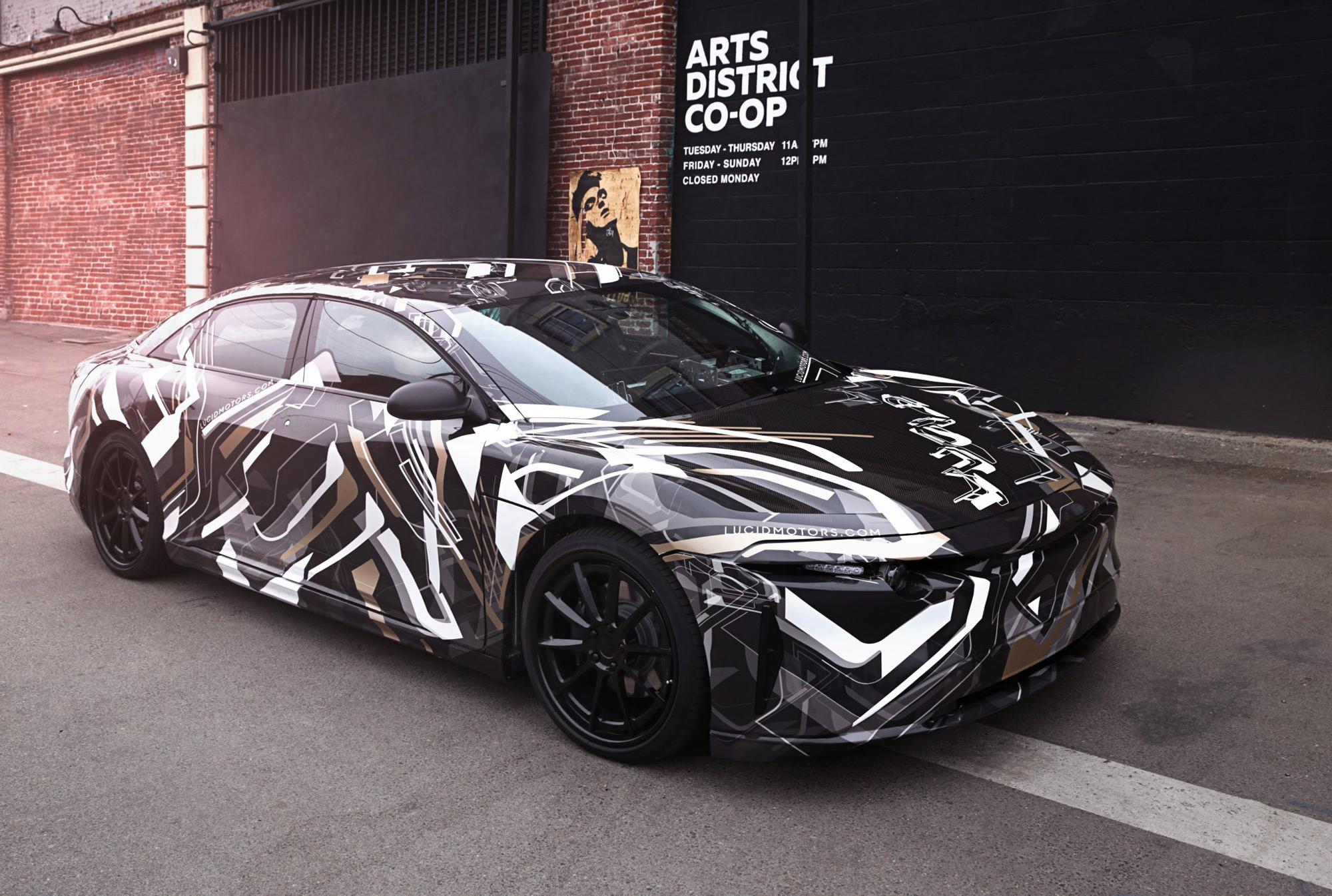 Lucid Motors Alpha Car project