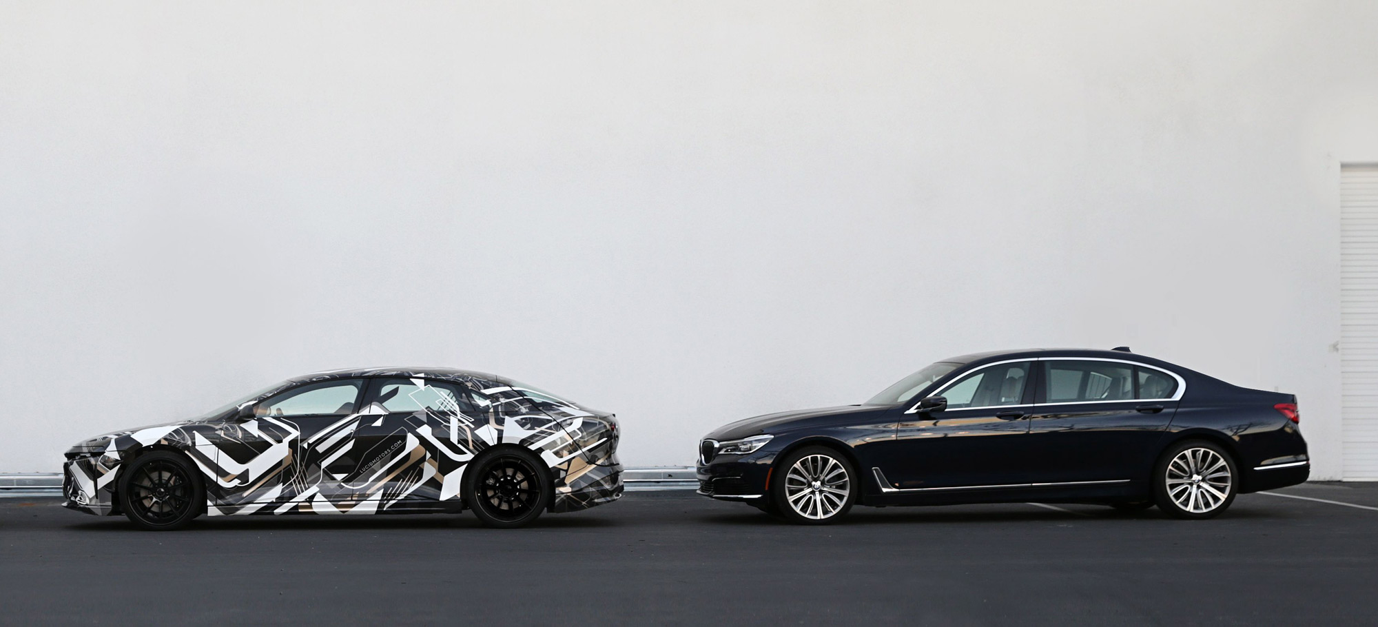 Lucid Motors and BMW