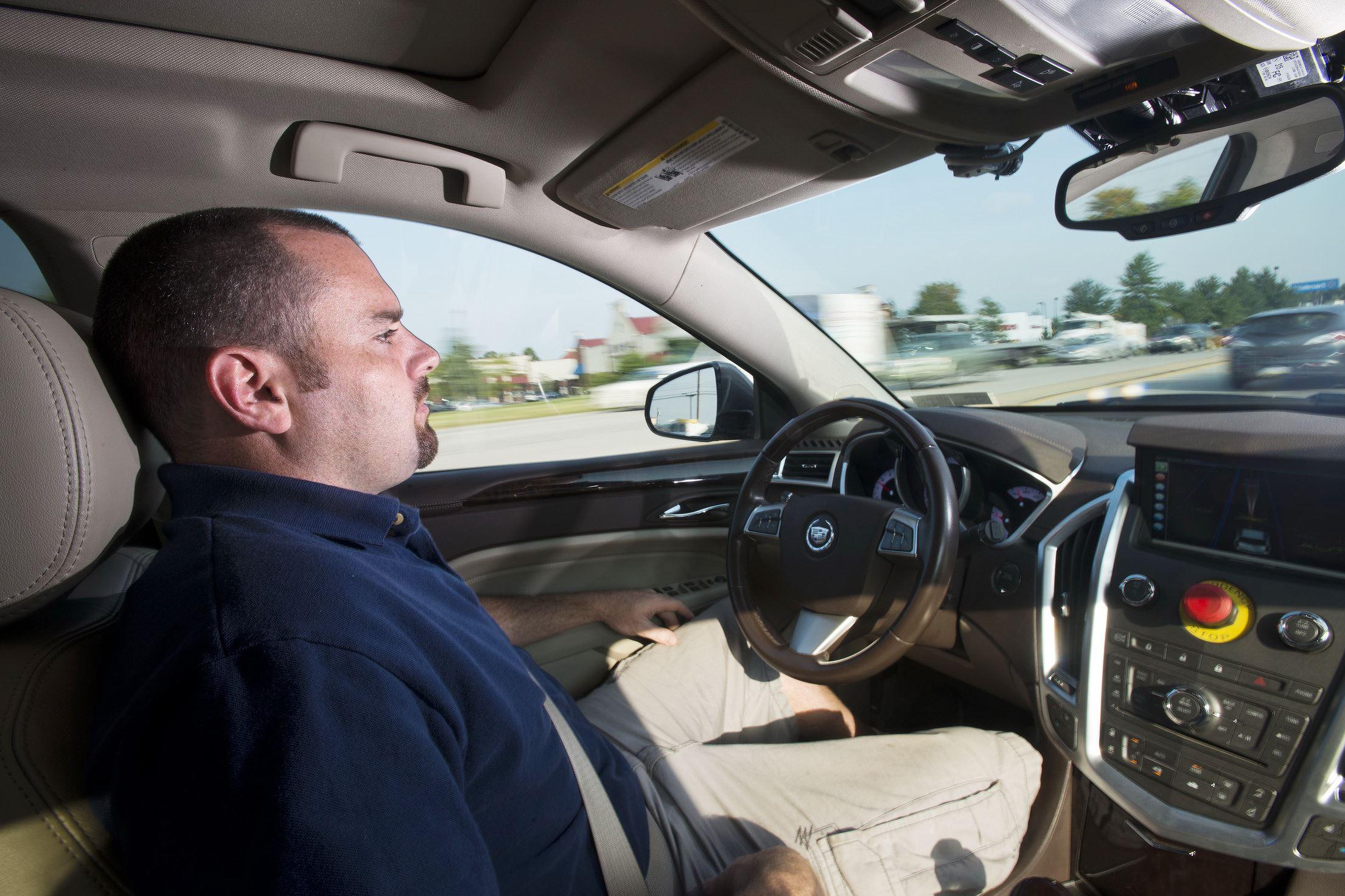 self driving autonomous ford fusion