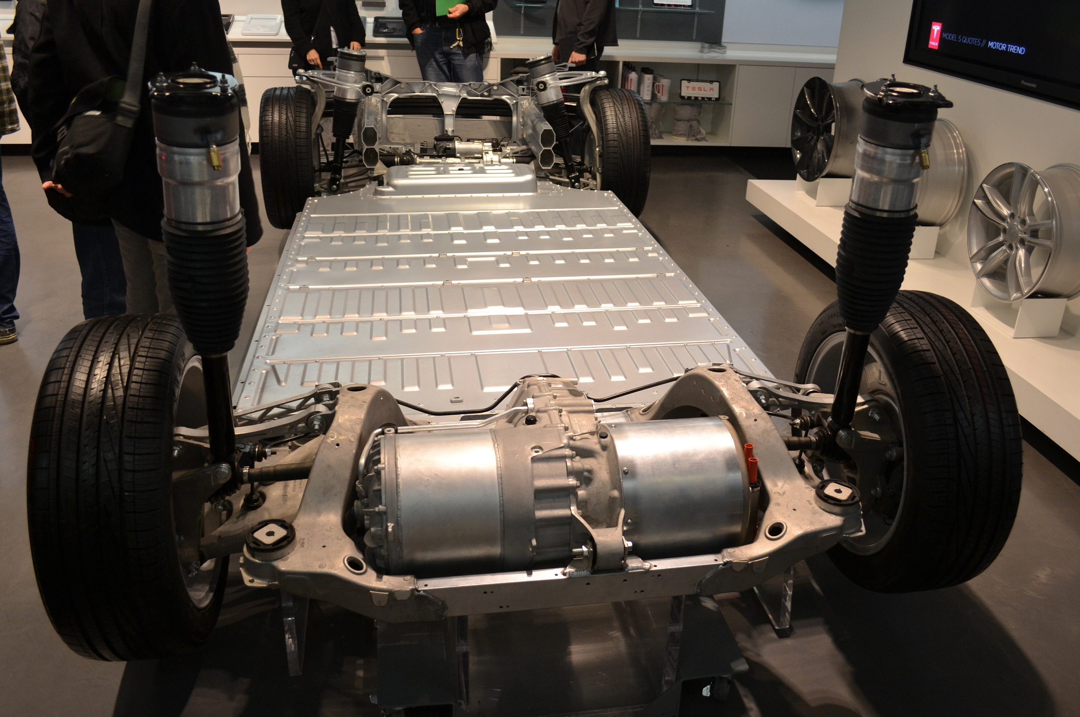 tesla motors model s base