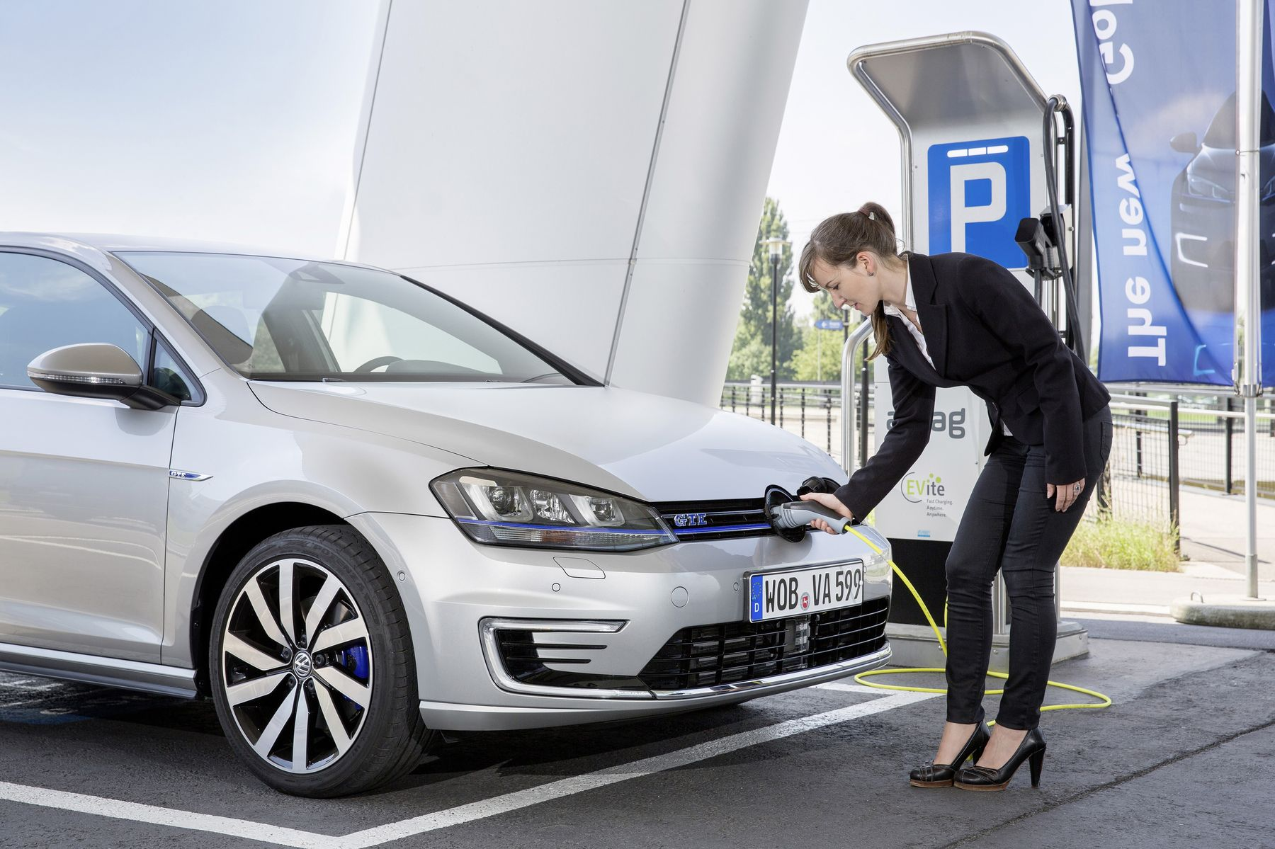 Volkswagen charging station