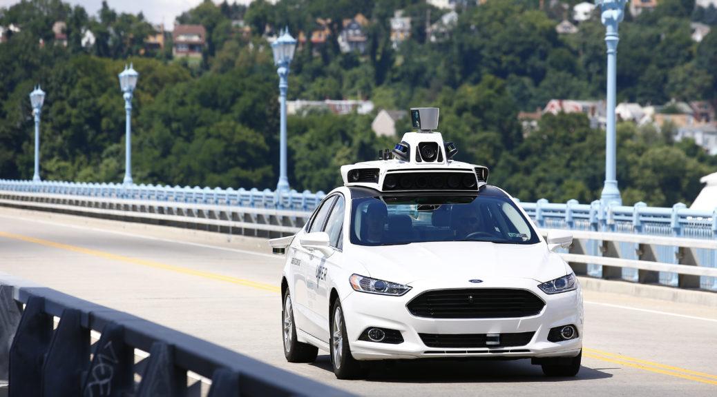 Uber Autonomous Cars self driving