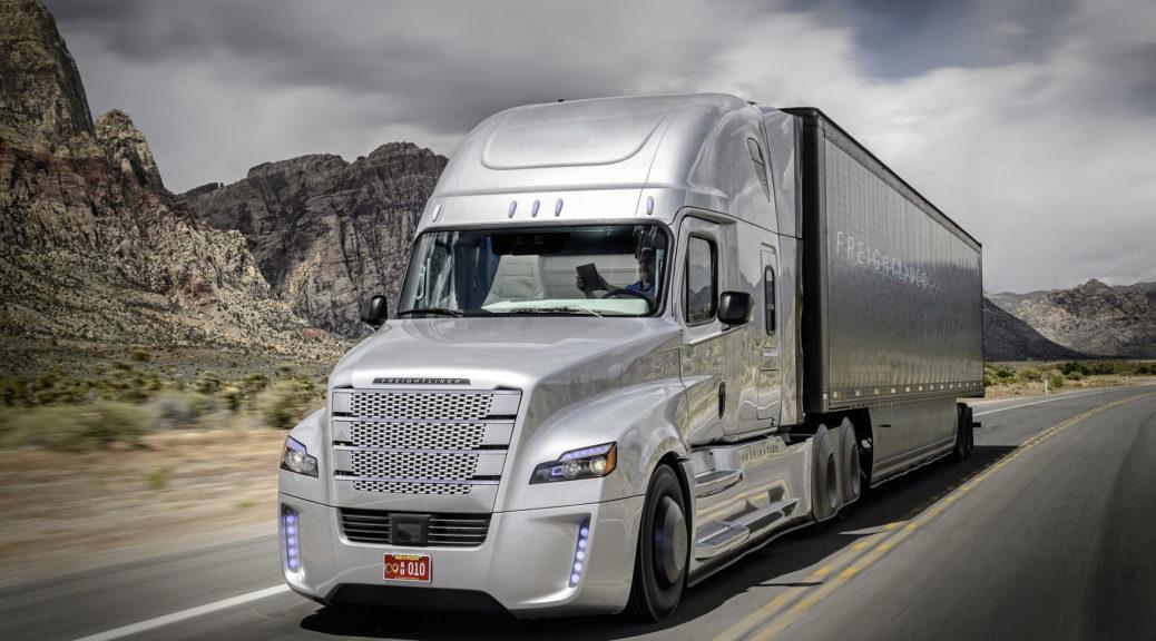 truck self driving