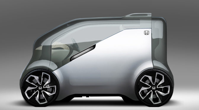 Honda Neuv concept electric vehicle