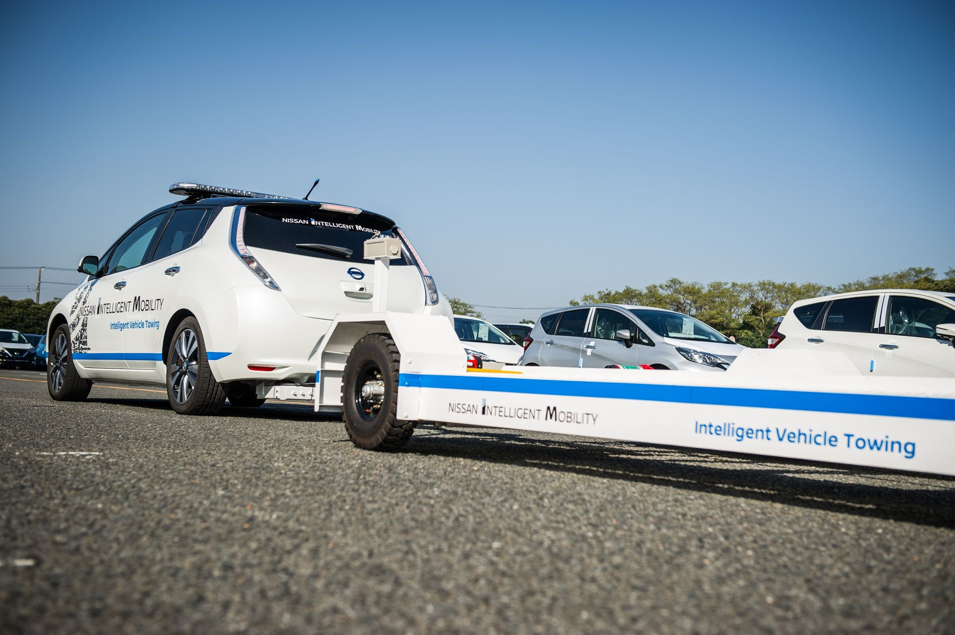 Nissan Intelligent Vehicle Towing