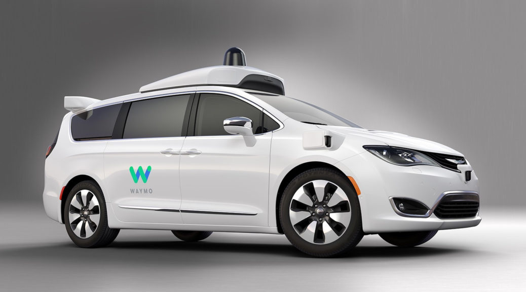 google waymo chrysler pacifica hybrid