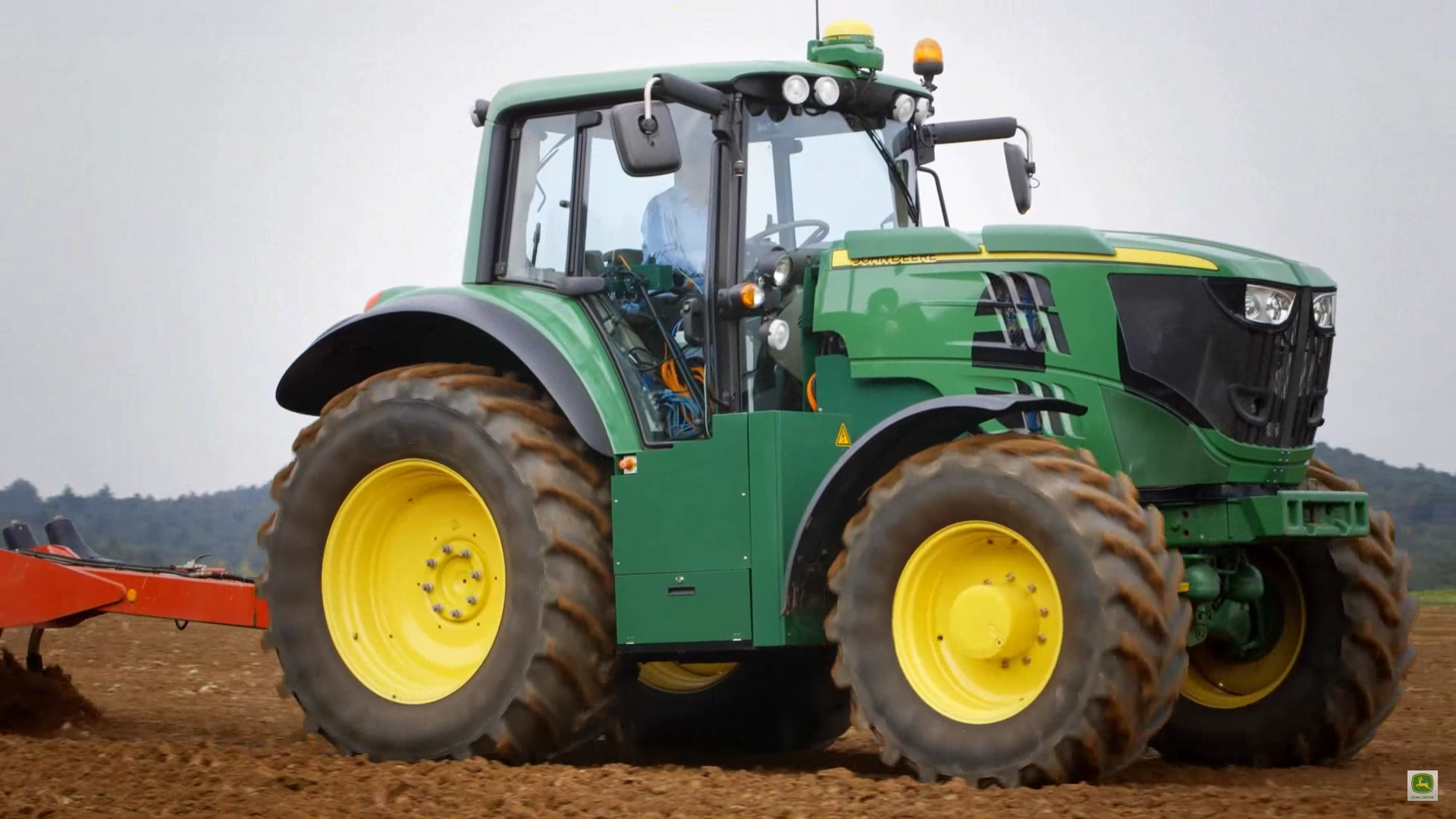 john deere electric tractor