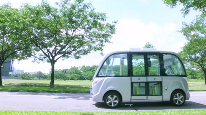 singapore self driving bus