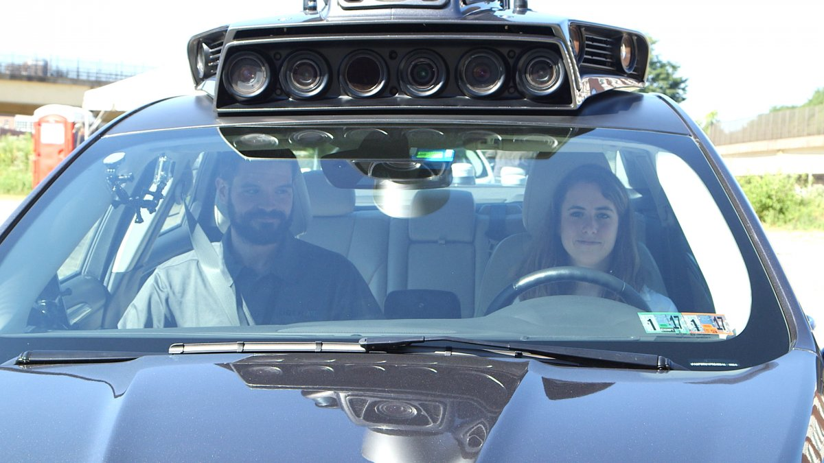 uber self driving ford fusion