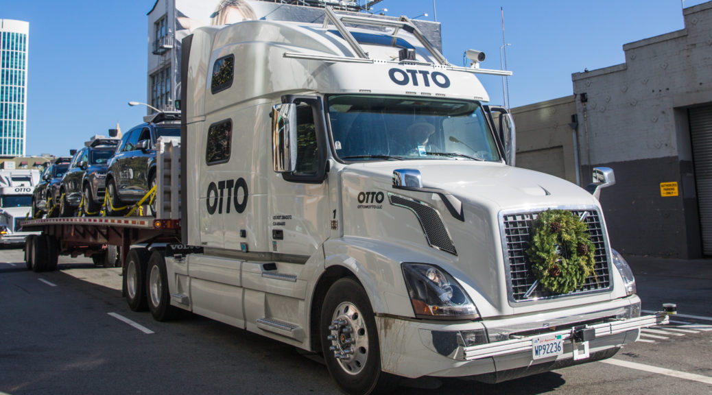 uber self driving otto truck