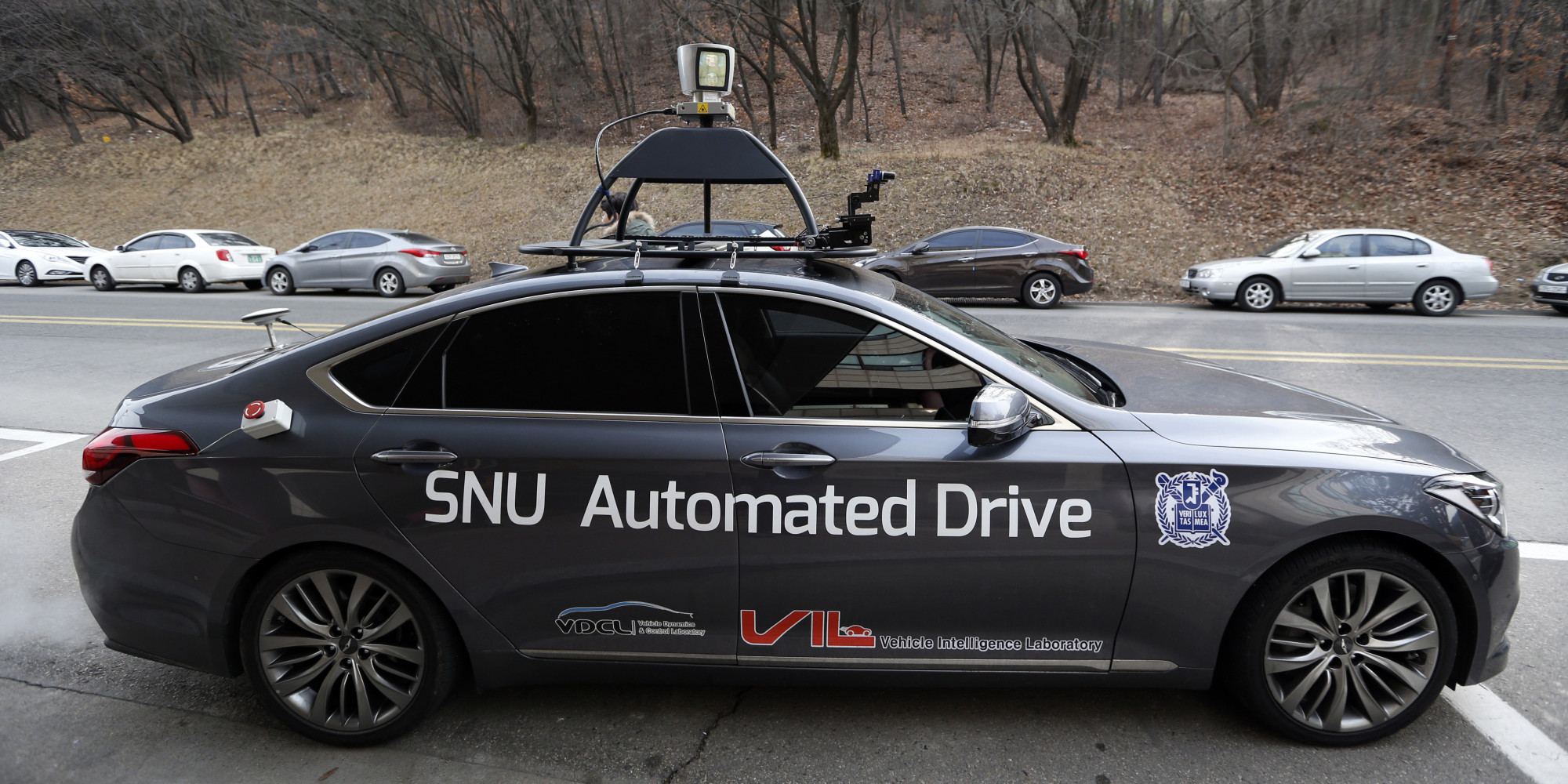 South Korea Driverless Taxi SNUber