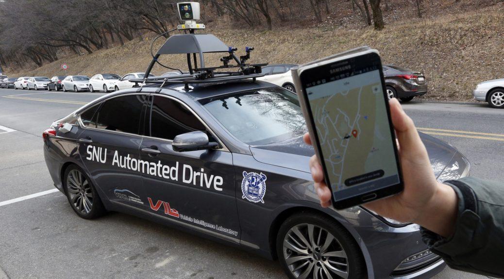 South Korea Driverless Taxi SNUber