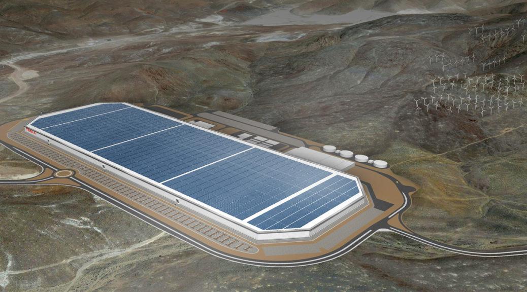 gigafactory tesla solar roof