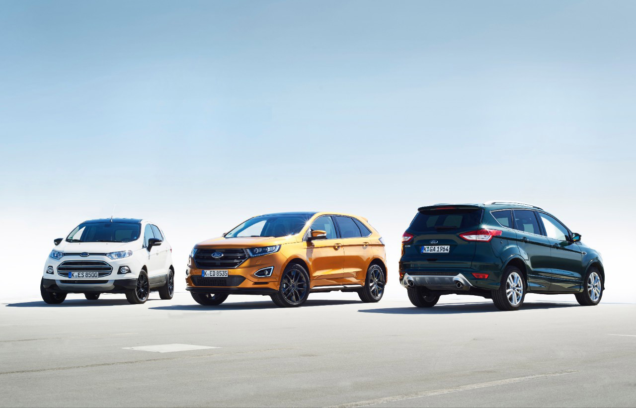 Ford Geneva 2016 SUV Family