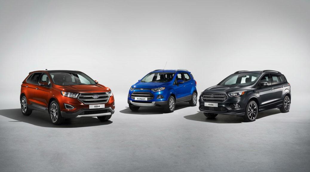 Ford-Geneva-2016-Ford Geneva 2016 SUV Family
