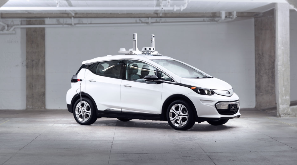 Self Driving Chevy Bolt