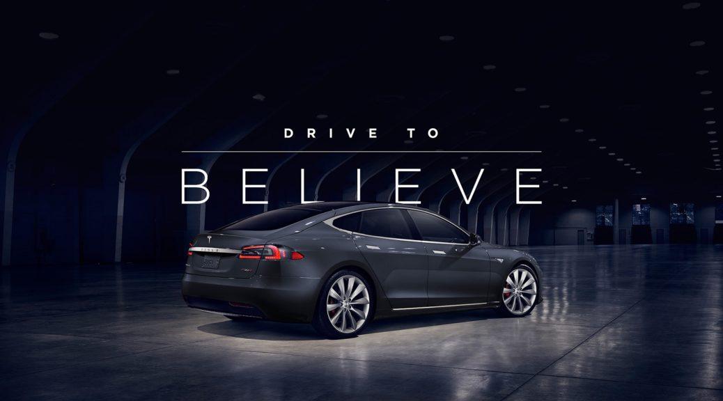 Tesla Drive to Believe 1