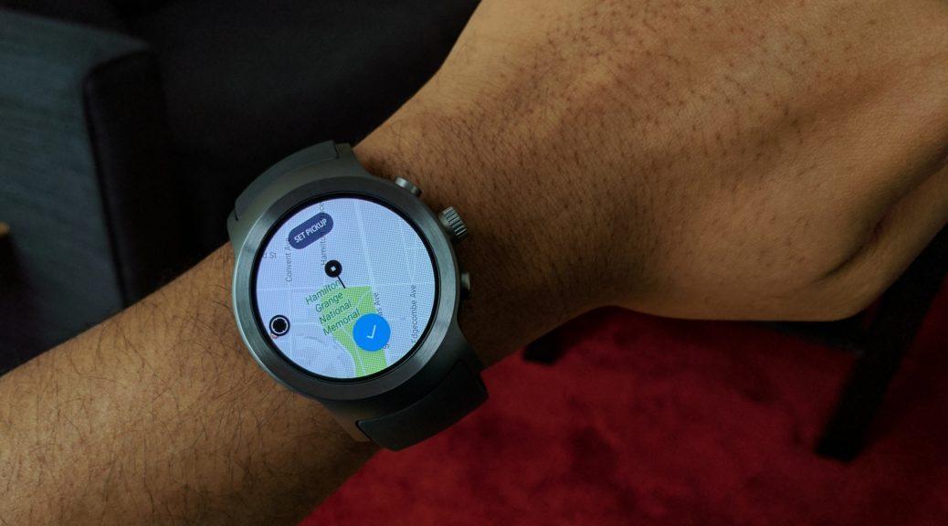 Uber Smartwatch app
