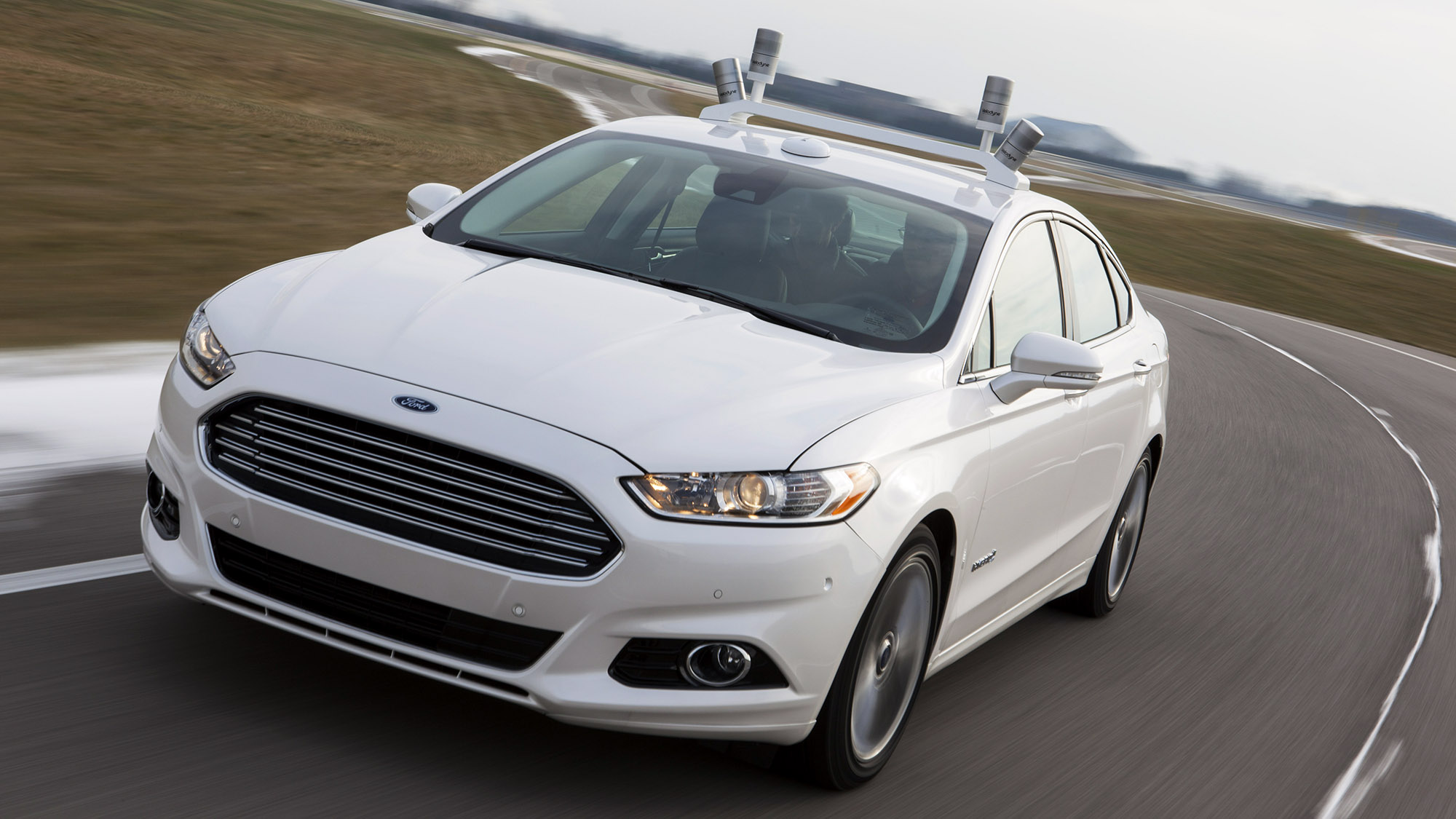 Ford Fusion Hybrid self driving