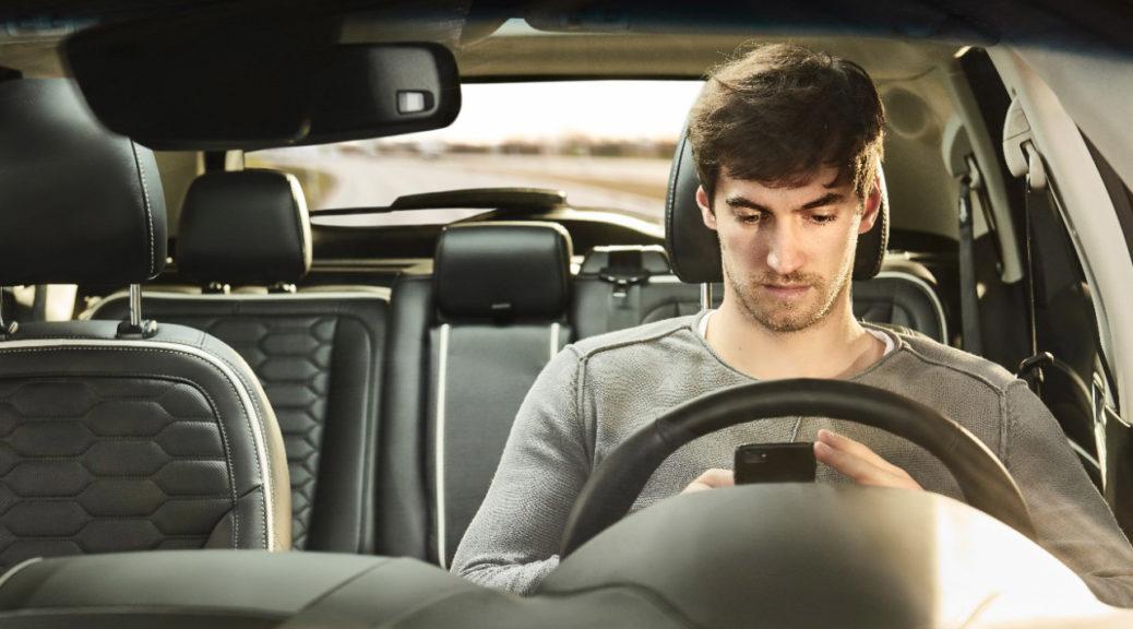 car drive selfie