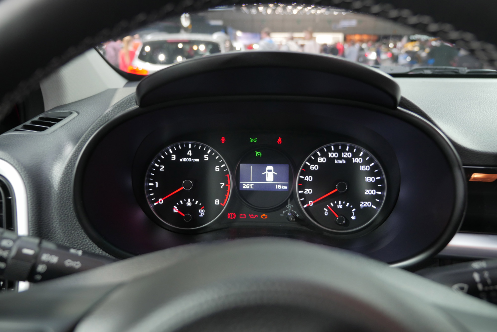 Cockpit Dasboard Geneve 2017