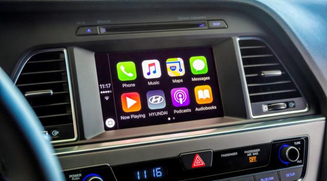 Hyundai Sonata Apple CarPlay