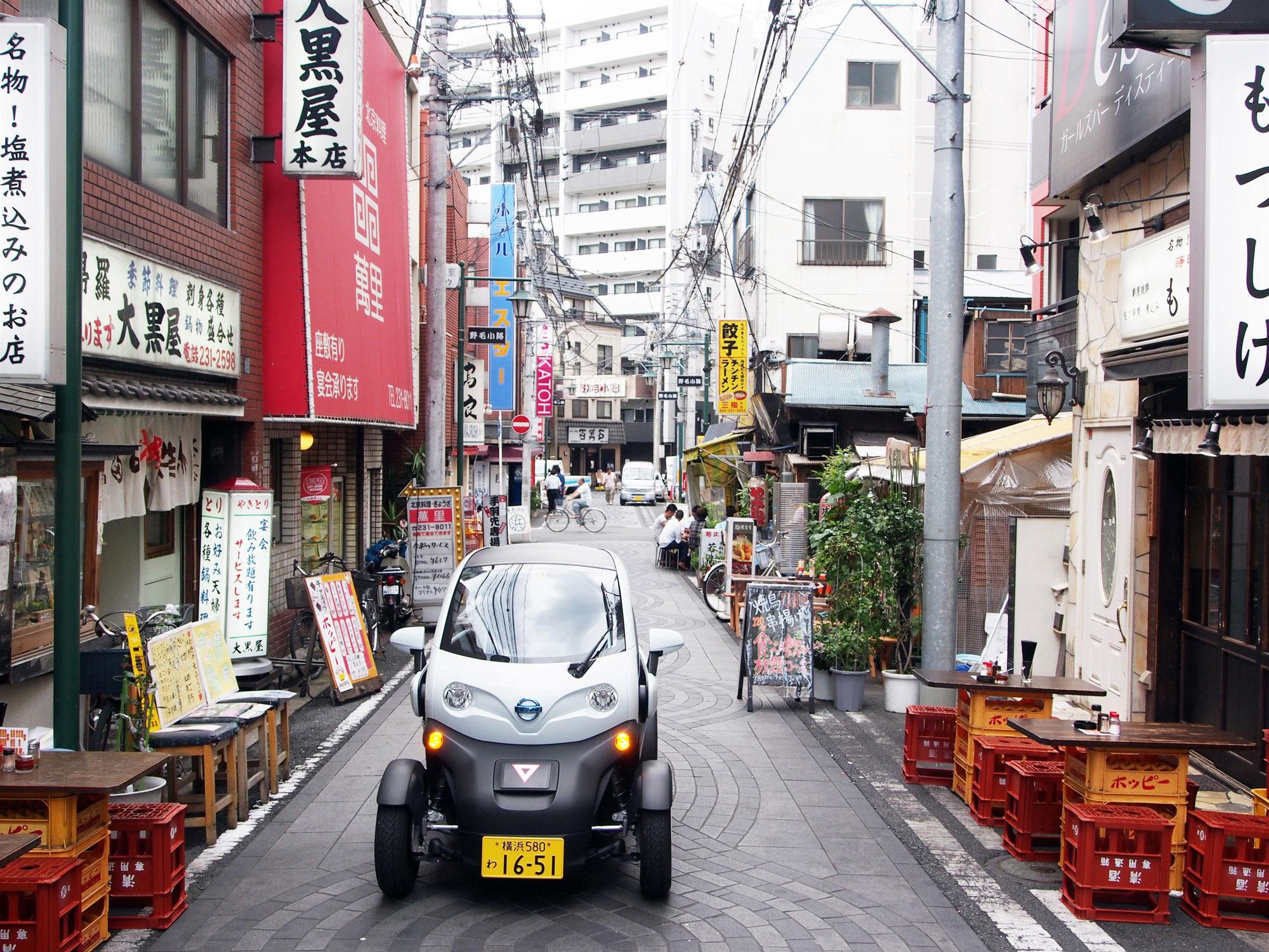 Nissan car-sharing