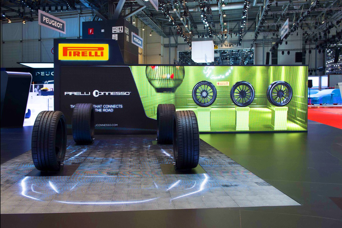 Pirelli Connesso smart tyres
