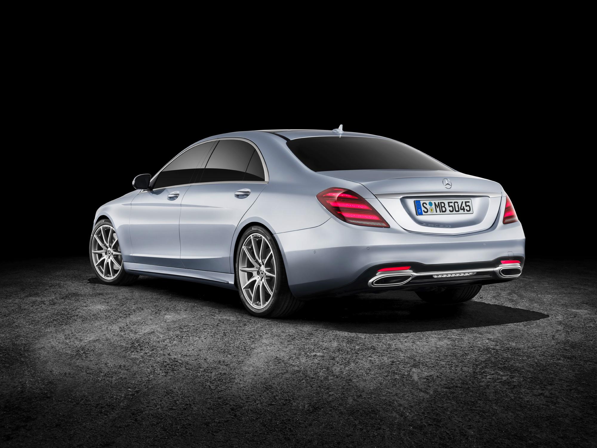 new Mercedes-Benz S-Class 2017 Auto Shanghai