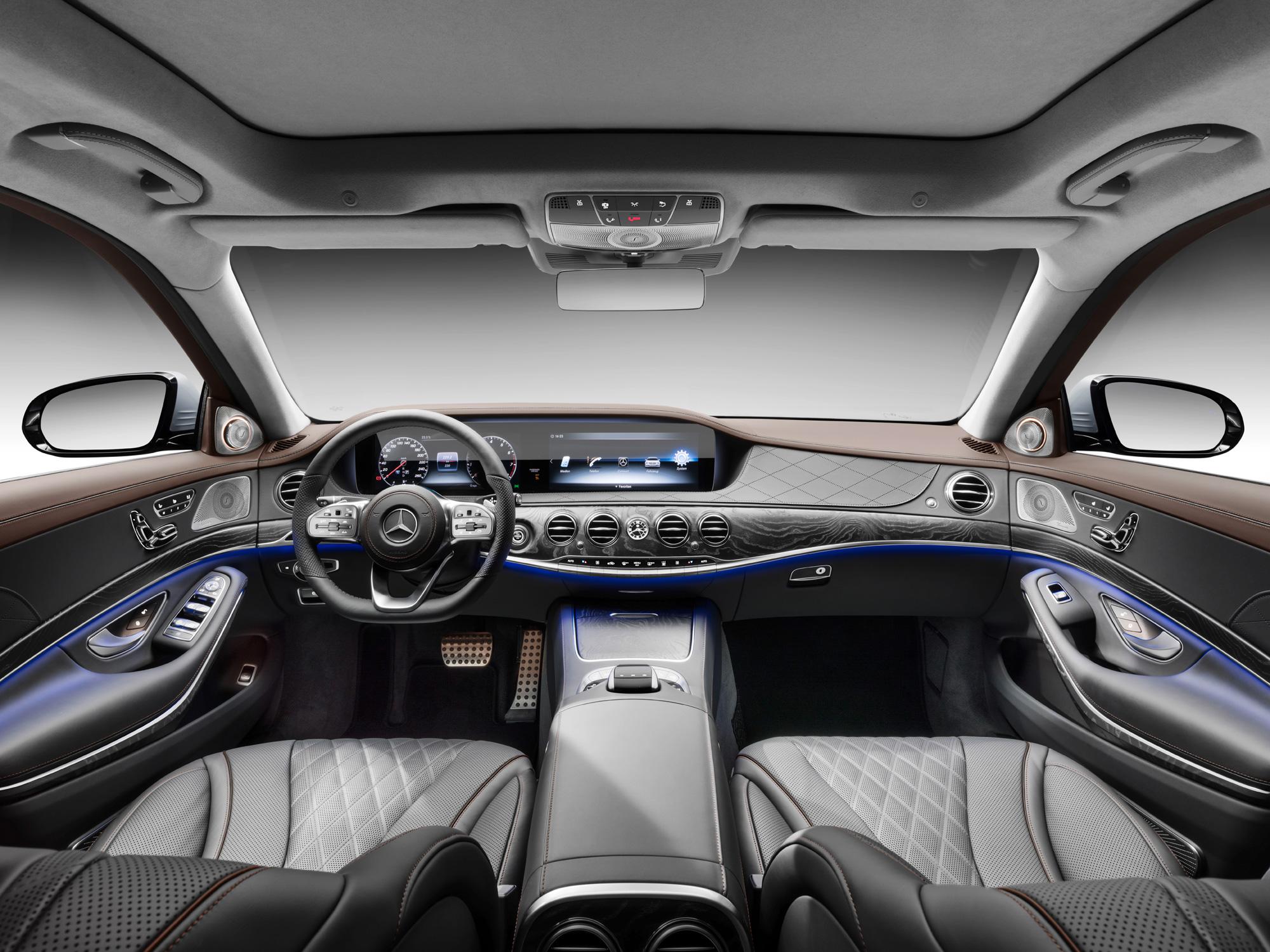 new Mercedes-Benz S-Class 2017 Auto Shanghai interior