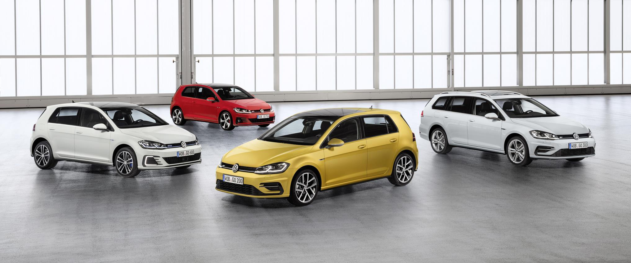 new VW Golf 2017