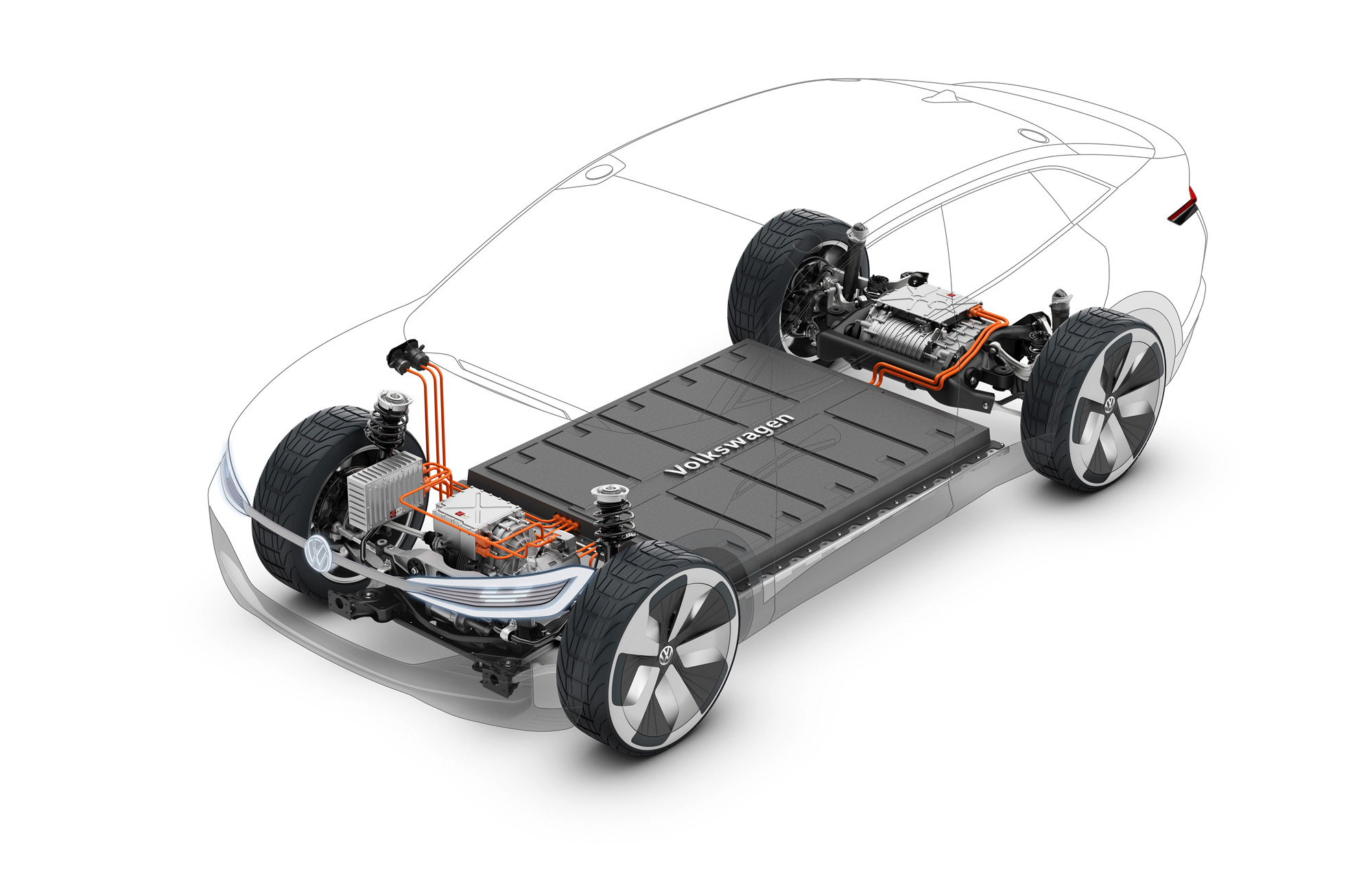 VOLKSWAGEN I.D. CROZZ electric