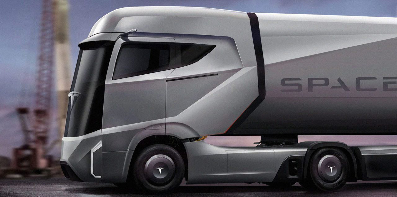 Tesla Semi render