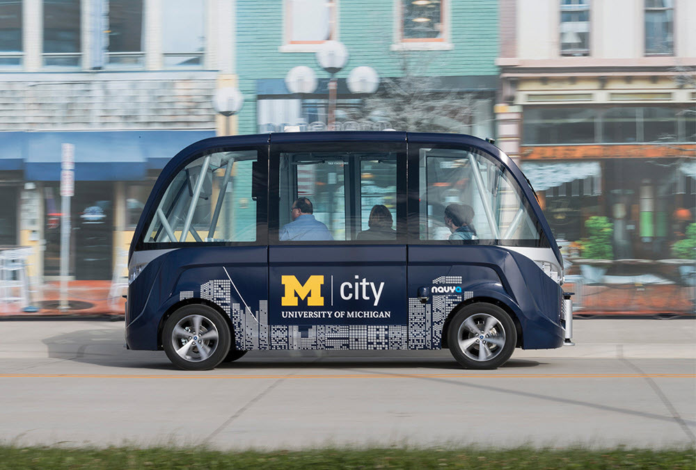 Mcity shuttle