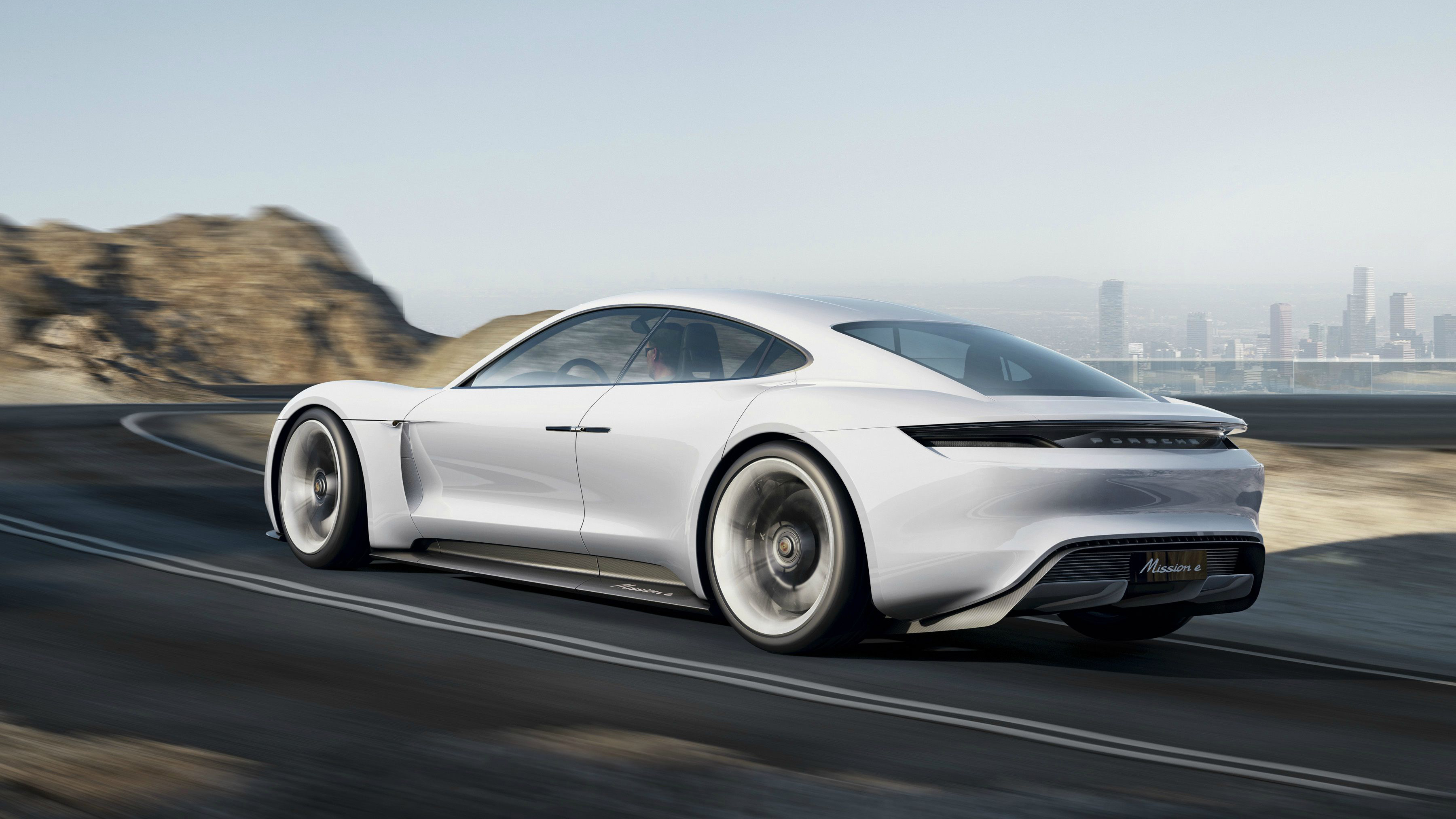 Porsche Mission E electric concept