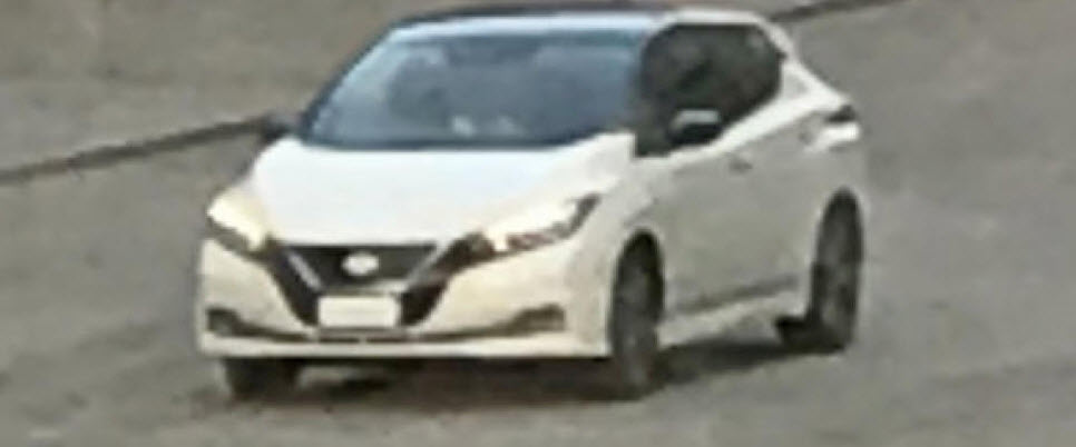 nissan leaf 2018 next gen without camouflage